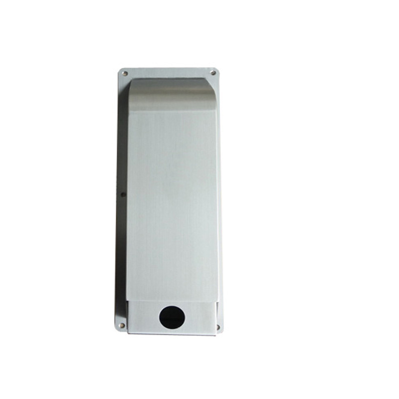 Wall mounted manual SS304 soap dispenser with cassette