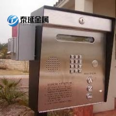 Slide Gates SS304 Access Control Call Boxes