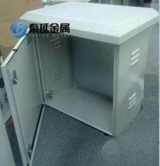 Sheet Metal Powder Painting Enclosures With Venting Holes