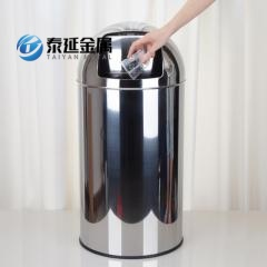 Promotional SS 304 Mirror Garbage Storage Barrel