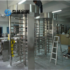 Stainless Steel Double Rotating Gates