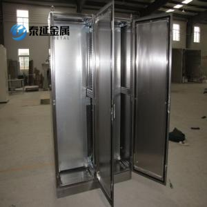 Galvanized Mounting Plate Stainless Steel 304 Cabinets