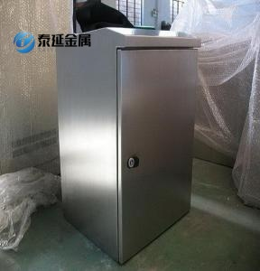 Stainless Steel Material Electrical Control Cabinets