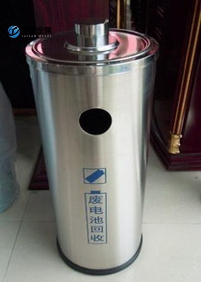 Stainless Steel  Barrel Garbage Cans