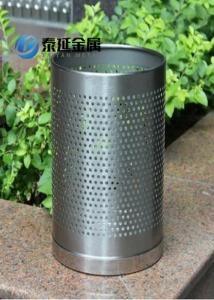 Stainless Steel Round Trash Cans