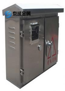 Window Type Stainless Steel Electric Meter Boxes