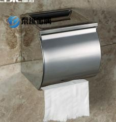Roll holder tissue box tissue enclosure