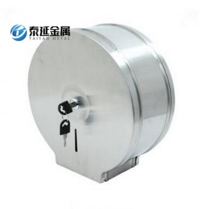 Single roll toilet tissue dispenser functionality