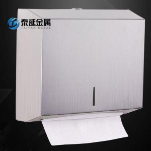 Wall mounted SS304 toilet paper dispenser