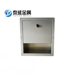Recessed SS304 toilet paper towel dispenser