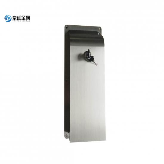 Surface mounted toilet paper towel dispenser
