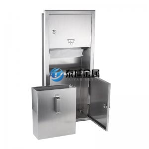 Restroom stainless steel bathroom shelves