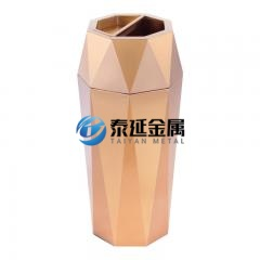 Steel trash can bin