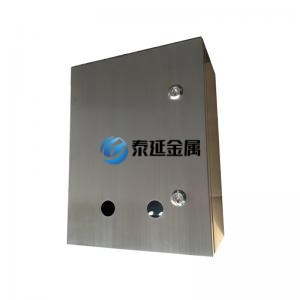 Stainless steel switch panel enclosure